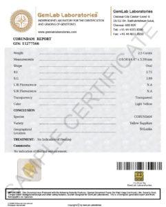 Yellow-Sapphire-Sample-Certificate