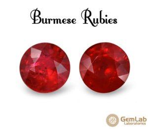 Burmese Ruby Gemstone