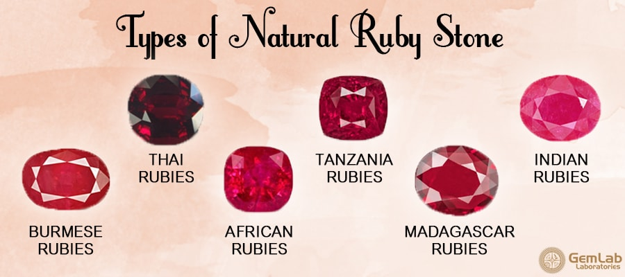 Do You Know The Different Types Of Natural Ruby Gemstone