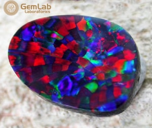 Harlequin Opal Gems Stone
