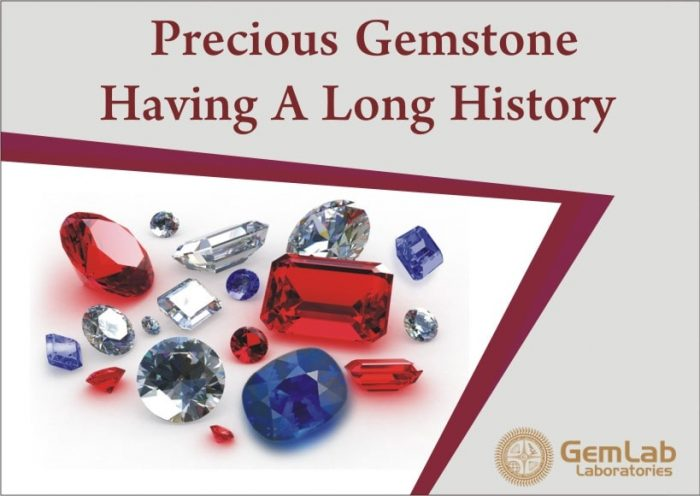 Precious Gemstone Having A Long History